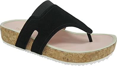 8e9837ad2e090 Amazon.com: Taryn Rose Women's Adelle Thong Sandal: Shoes