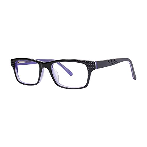 10X240 Women's Eyeglasses - Fashiontabulous Collection Frames - Black 48-18-135 ()