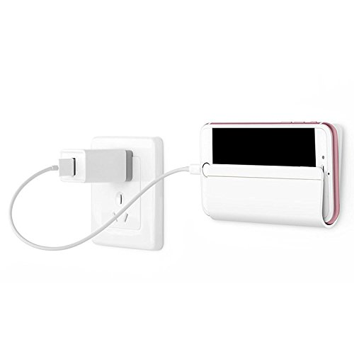 Wall Mount and Dock Charging Holder for iPhone, iPad, Android and Windows Tablet,eReader or Smartphone