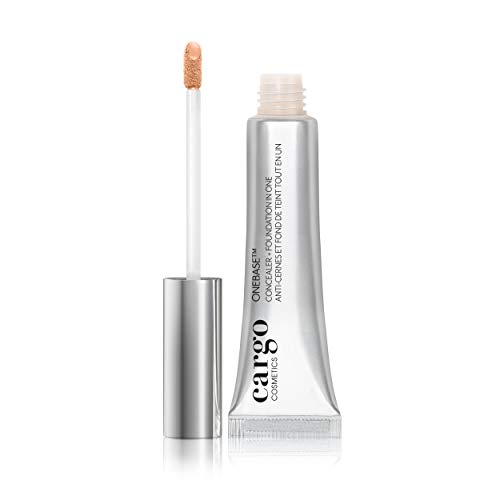 Cargo Cosmetics - OneBase Blendable Concealer + Foundation in One, Full Coverage, Under Eye Concealer, Under Eye Coverage, 02
