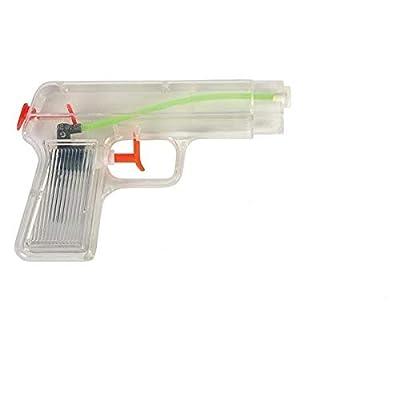 Rhode Island Novelty Sale 5 Inch Super Squirter Clear Water Gun Sale: Toys & Games