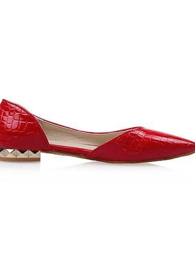 Flats disponibles las más white señaló uk5 cn38 zapatos PDX Toe de 5 zapatos plano 5 eu38 colores mujeres us7 talón wO8vfq7E