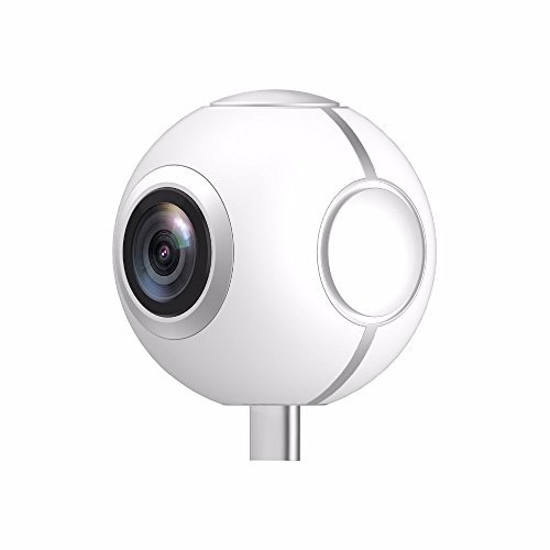 360 Degree Mini Panoramic Camera - Dual Wide Angle Lens Photo and Video Recorder For Android Smartphone