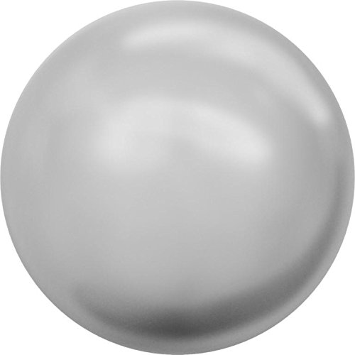 (5809 Swarovski Pearls Round Small (No Hole) Crystal Light Grey Pearl | 1.5mm - Pack of 2000 (Wholesale) | Small & Wholesale Packs)
