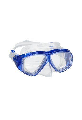 Speedo Kids' Adventure Dive Mask, Blue, One (Adult Football Face Mask)