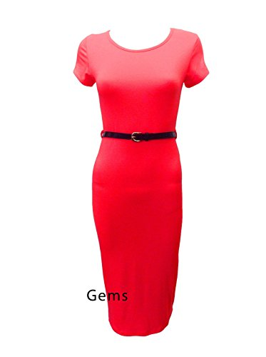 Generic - Robe - Femme Rouge Rouge M/L