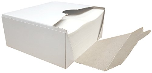 Square Wax Paper Sheets - Hamburger Patty Paper Squares (1000 Sheets)