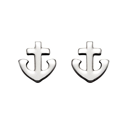 Small Stainless Christian Anchor Earrings product image