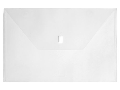 Lion Design-R-Line Poly Oversized Project Envelope, 11 x 17 Inches, Clear, Pack of 6 (60205-CR-6P) by Lion