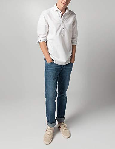 El Ganso 1050S190020 Camisa Casual, (Blanco 0020), L para Hombre ...