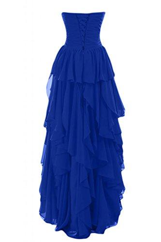 Gowns basso lungo Hi per sera Sunvary Sweetheart donna scollo Romantic da Blu lo abiti da Pageant Fw7x6X