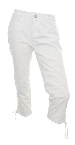 - DKNY Women's Crop Pants (8, white)