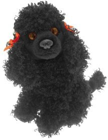 643bb32e7a1 Image Unavailable. Image not available for. Colour  BLACK POODLE SOFT AND CUDDLY  POCKET DOG