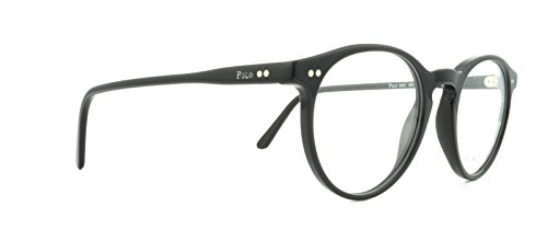 Polo Men's PH2083 Eyeglasses Shiny Black 48mm