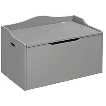 Badger Basket Bench Top Toy Box, Gray
