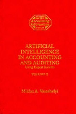 100 best selling accounting books of all time bookauthority book cover of miklos a vasarhelyi artificial intelligence in accounting and auditing using fandeluxe Choice Image
