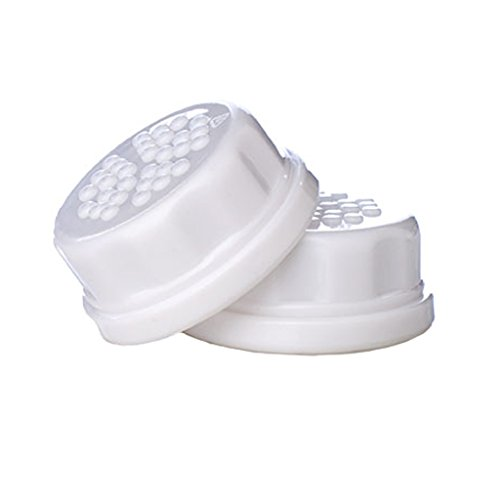 Lifefactory Solid Cap 2 Pack White