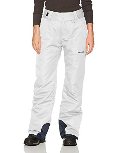 (Arctix Women's Insulated Snow Pant, White, Medium/Regular)