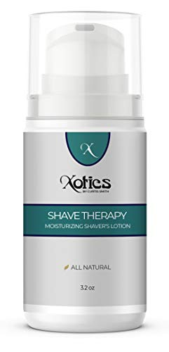 Xotics by Curtis Smith Shave Therapy Pre-Shave Lotion – 3.2 oz | Professionally Formulated to Reduce Razor Irritation, Blemishes & Scarring | Enhanced with Shea Butter, Avocado Oil & Aloe Vera from Xotics by Curtis Smith