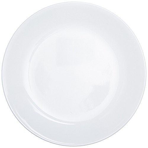 Corelle Livingware Luncheon Plate, Winter Frost White, Size: 8-1/2-Inch, 18-Plates by World Kitchen