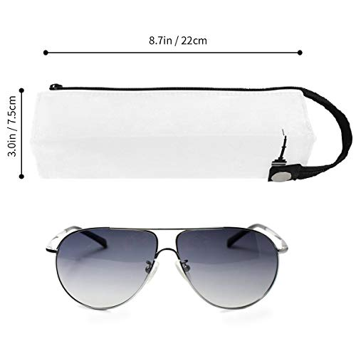 Canadian Toronto Black White Glasses Case Women Men Eyeglasses Bag Pencil Case ()