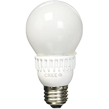 Cree BA19-04527OMF-12DE26-2U100 40W Equivalent 2700K A19 LED Light Bulb, Soft White