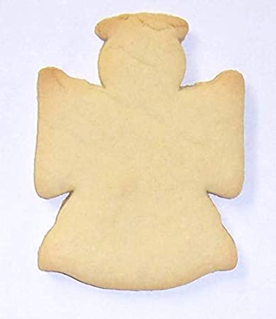 Scott S Cakes Undecorated 4 Christmas Angel With Halo Sugar Cookies