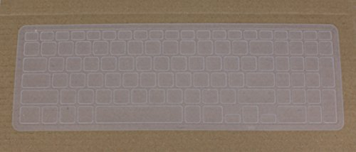 Saco Chiclet Keyboard Skin for Dell Inspiron 15 7000 Series  W560780IN9  Laptop  Transparent