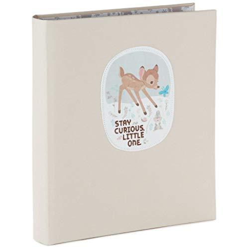 [해외]홀 마크 디즈니 밤비 1 개 호기심 작은 하나 5 년 메모리 책 사진 앨범 이정표; 영화 > TV / Hallmark Disney Bambi Stay Curious Little One 5-Year Memory Book Photo Albums Milestones; Movies & TV