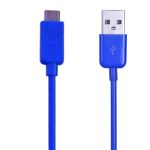 Importer520 (TM) 3ft 1M Colorful Micro USB Charger Cable Cord for Controller Charging Cable for Xbox One - Blue