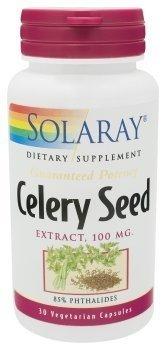 Solaray – Gp Celery Seed Extract, 100 mg, 30 capsules