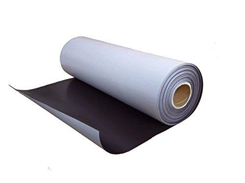Foglio magnetico naturale con adesivo 1mm x 31cm x 50cm - utilizzabile per lavori di arte, presentazioni e progetti educativi Magnosphere