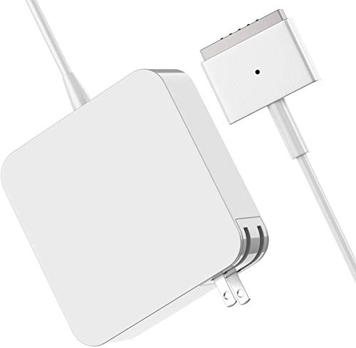 Mac Book Air Charger, Great Replacement 60W Magsafe 2 T-Tip Magnetic Power Adapter Charger for Mac Book Air 13-inch (60T)