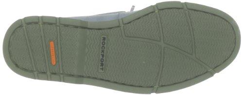 Rocqua Publishing - Zapatos de cordones de cuero para hombre Azul (Bleu (Lt Blue Nbk/Green))