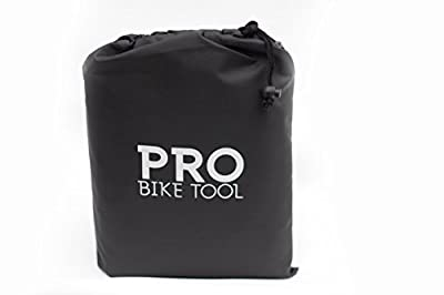 Pro Bike Cover for Outdoor Bicycle Storage - Large, XL & XXL - Heavy Duty Ripstop Material, Waterproof & Anti-UV - Protection from All Weather Conditions for Mountain & Road Bikes