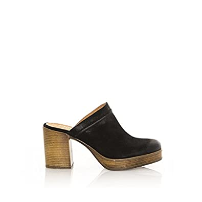 94594 Serraje Negro - Zapatos para Mujer, Color Negro, Talla 37 Mtng