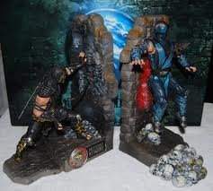 Mortal Kombat 9 Bookends with Scorpion & Subzero by Warner Bros Interactive. Entertainment, Inc.