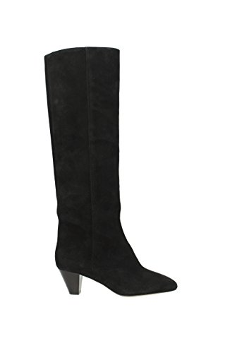 Marant Boots Suede Nero Regno bt002117a011s Women Unito Isabel 6PwdqvWw