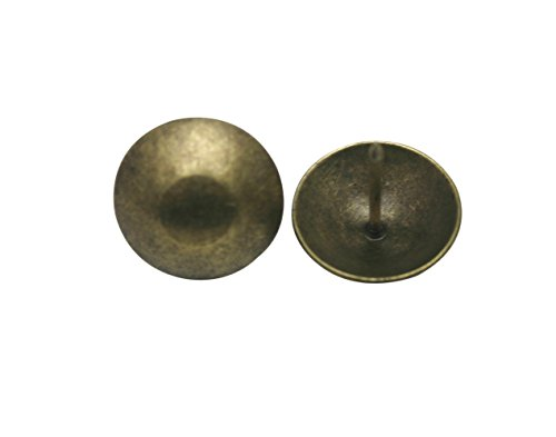 Antique Brass Round Large-headed Nail Diameter - 1