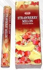 Strawberry Melon - Box of Six 20 Stick Tubes, 120 Sticks Total - HEM Incense