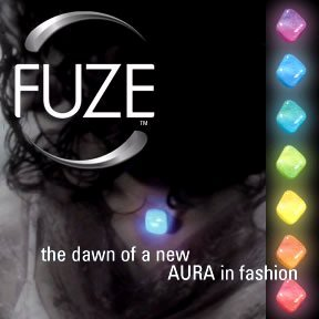 Natural Quartz Spiritual Necklace Rose Crystal Fuze Color Glow Lights Heal (Fuze Necklace)