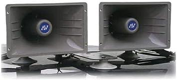Amplivox S1270 Indoor//Outdoor 100-watt Powerhorn Speaker