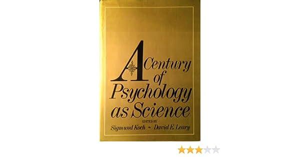 The origins of psychology