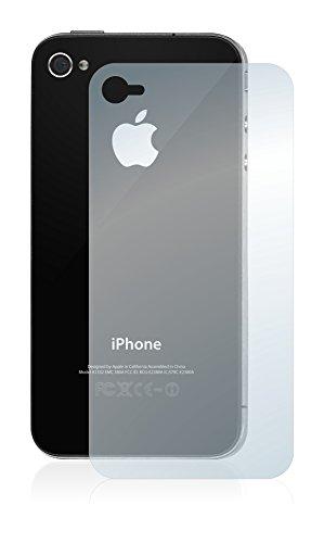 upscreen Bacteria Shield Matte Pellicola Protettiva Opaca per Apple iPhone 4S (Posteriore) Proteggi Schermo Antibatterica, Antiriflesso