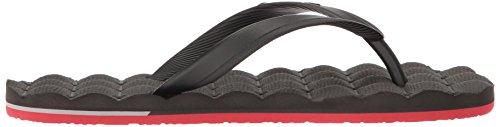 Rubber Flip Pewter Recliner Men's Flop Sandal Volcom nWvEBZUA