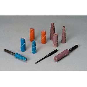 Standard Abrasives 706454, Straight Cartridge Roll, 3/8 x 1 x 1/8, 80 Grit, Aluminum Oxide (100 Units)