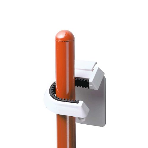InterDesign Self Adhesive or Screw Mount Broom/Mop Holder, W