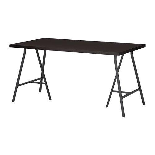 Amazon.com: IKEA LINNMON/LERBERG, computadora, mesa: Kitchen ...