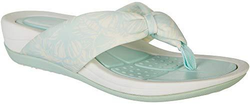 (Easy Spirit Beachy 2 Women's Sandal 10 B(M) US Mint-Cream)