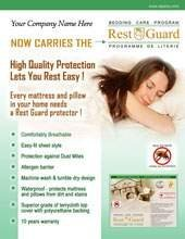 Mattress Rest Cover Guard (Taperly H01212-Rest-Guard Mattress Cover-Double by Taperly Products)